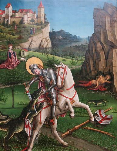 Saint George and the Dragon @ Kunstmuseum Basel