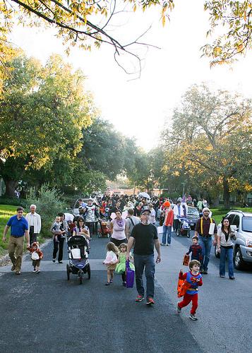 Halloween parade, 2012